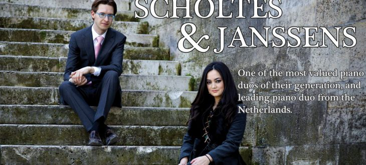 A leading piano duo from the Netherlands performed famous